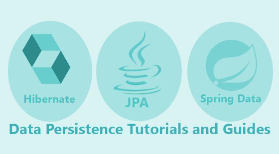data Persistence tutorials