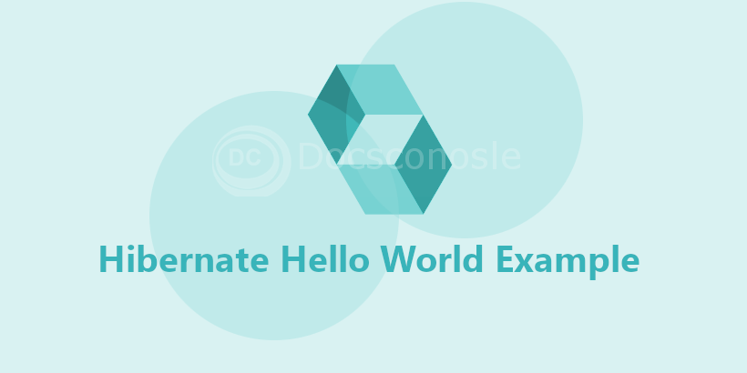 Hibernate Hello World Example