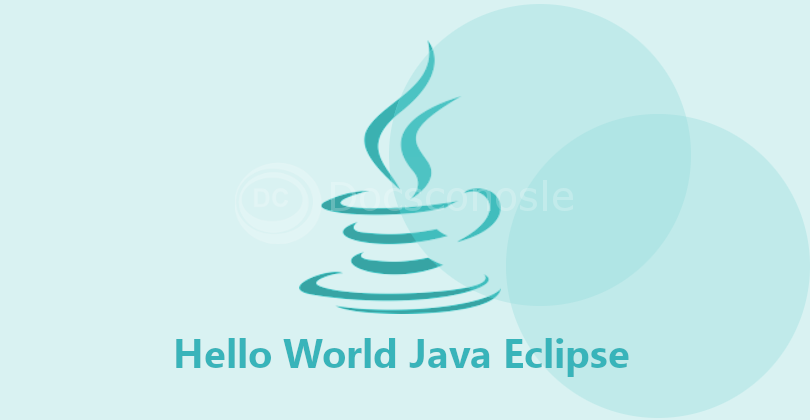 Java HelloWorld Example + Eclipse