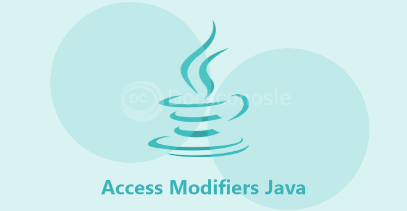 Access Modifiers Java