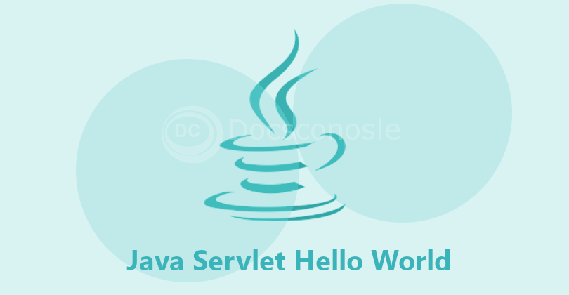 Java Servlet Hello World