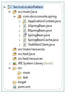 Service Locator Pattern Java