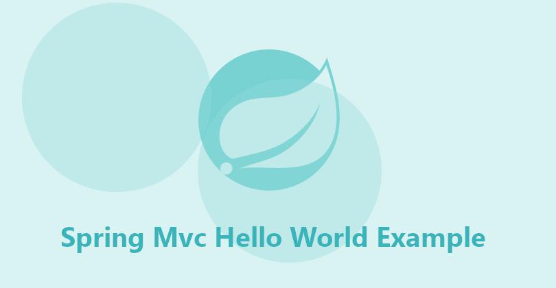 Spring Mvc Hello World Example