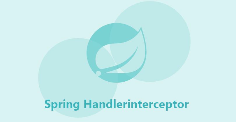 Spring Handlerinterceptor